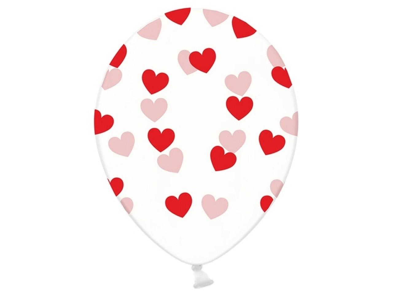 2941f2c5e3a Skaidrus balionas su heliu, Hearts gėlės į namus šakiuose | GeliuFeja.lt