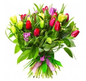 Pavasario nuotaika - Gėlės į namus Vilniuje