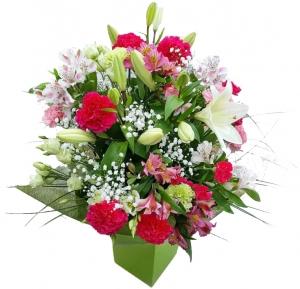 Laiminga diena - Gėlių pristatymas į namus Alytuje