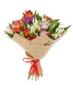 Alstromerijos Mix - Gėlių pristatymas į namus Ukmergėje
