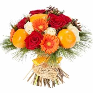 Valgoma puokštė Žavesys - Gėlių pristatymas į namus Mažeikiuose