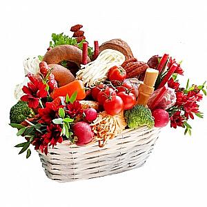 Krepšelis Vyrų džiaugsmas - Gėlių pristatymas į namus Ukmergėje
