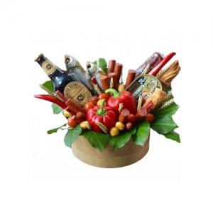 Valgoma dėžutė vyrams - Gėlių pristatymas į namus Mažeikiuose