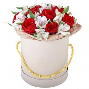 Meilės dėžutė - Gėlių pristatymas į namus Alytuje