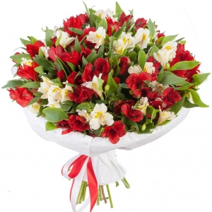 Alstromerijos Gražumėlis - Gėlių fėja - Gėlių pristatymas į namus