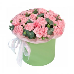 Rausvoji aušra - Gėlių pristatymas į namus Alytuje