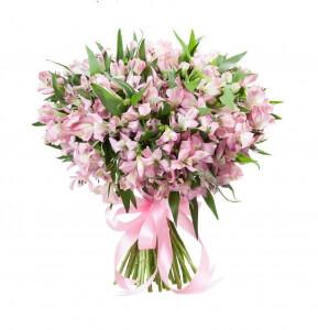 Alstromerijos - Gėlių pristatymas į namus Klaipėdoje