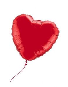 Folinis balionas – širdis, su heliu - Gėlių pristatymas į namus Vilniuje