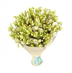 Baltas šilkas - Gėlių fėja - Gėlių pristatymas į namus