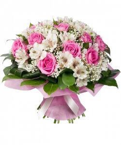 Laiminga istorija - Gėlių pristatymas į namus Klaipėdoje