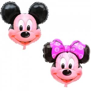 Mickey arba Minnie, Balionas su heliu - Gėlių pristatymas į namus Tauragėje