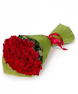 Puokštė iš rožių - Gėlių pristatymas į namus Vilniuje