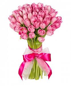 Rožinis pavasaris - Gėlės į namus Vilniuje