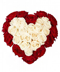 Tu mano širdyje! - Gėlių pristatymas į namus Šiauliuose