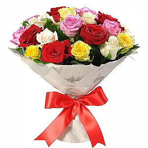 Vaivorykštė - Gėlių fėja - Gėlių pristatymas į namus